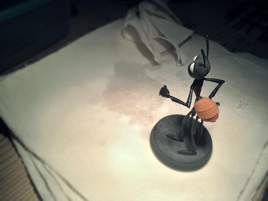 3d tlačený mravec