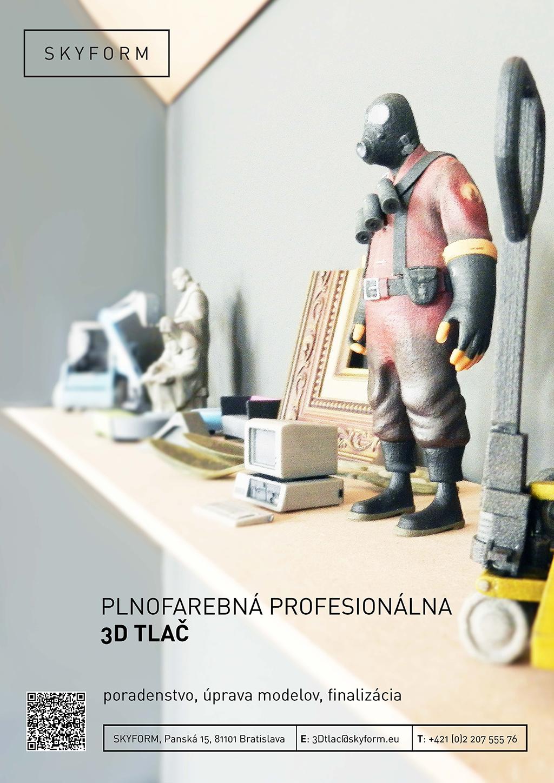 plagát SKYFORM 3D tlač 01