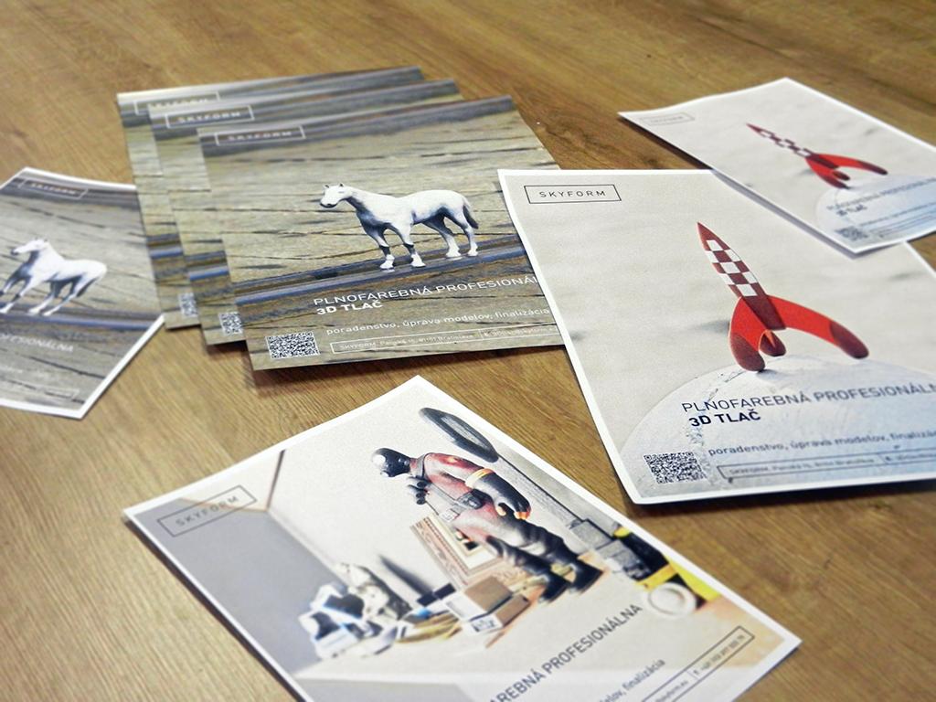 plagáty 3D tlač