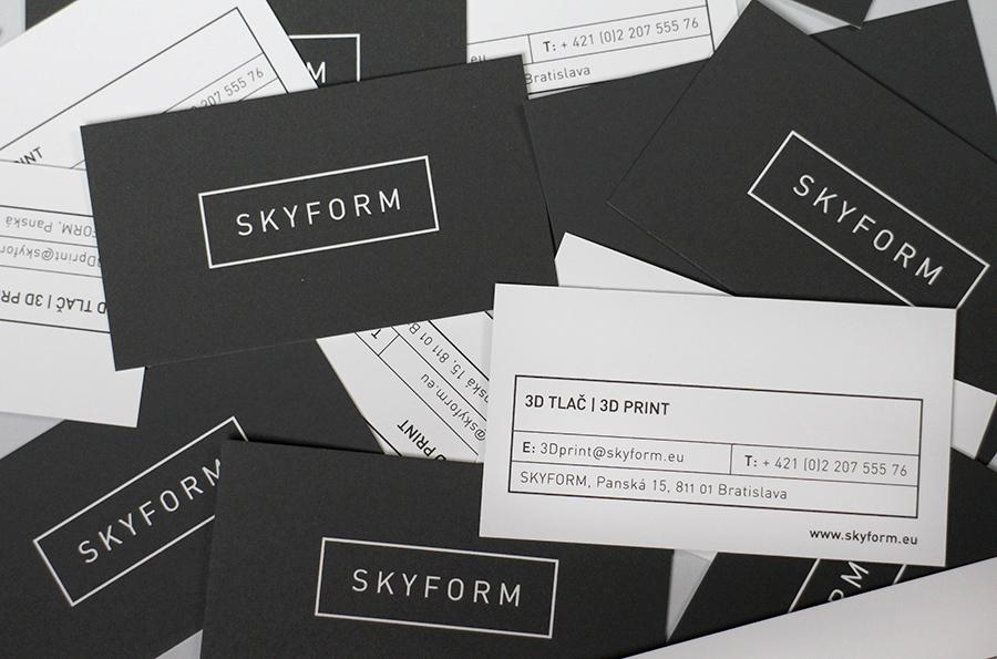 corporate identity SKYFORM
