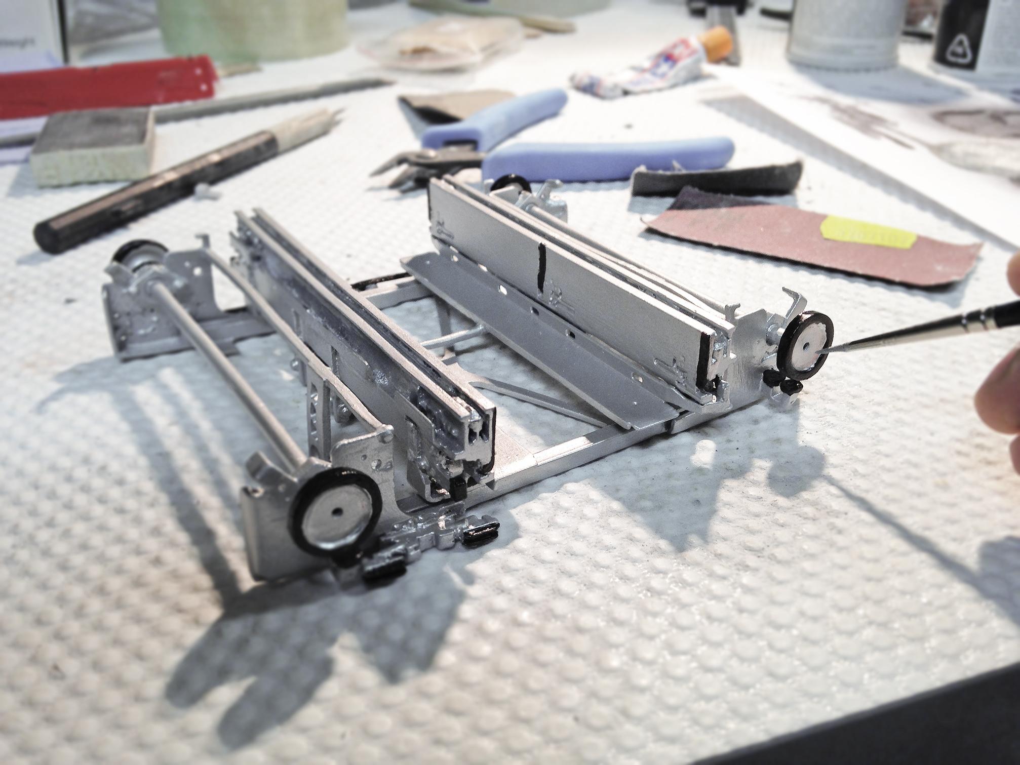 TGW Shuttle 3D printed
