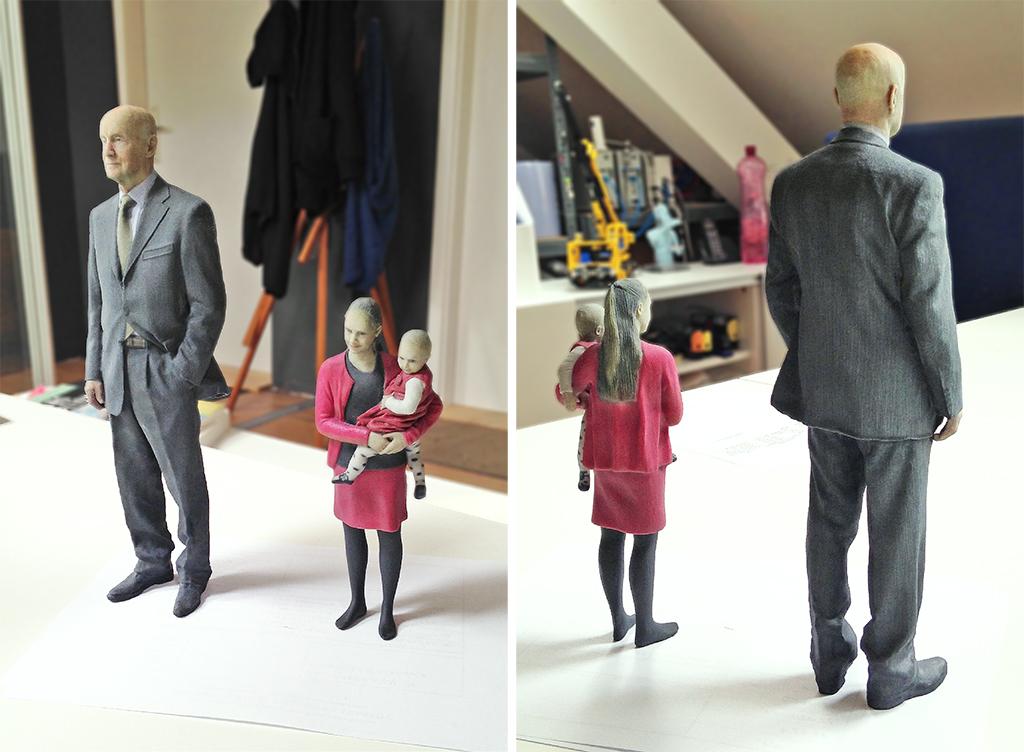 3D printed mini me