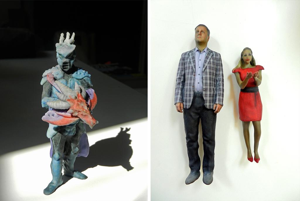 3D printed monster girl man