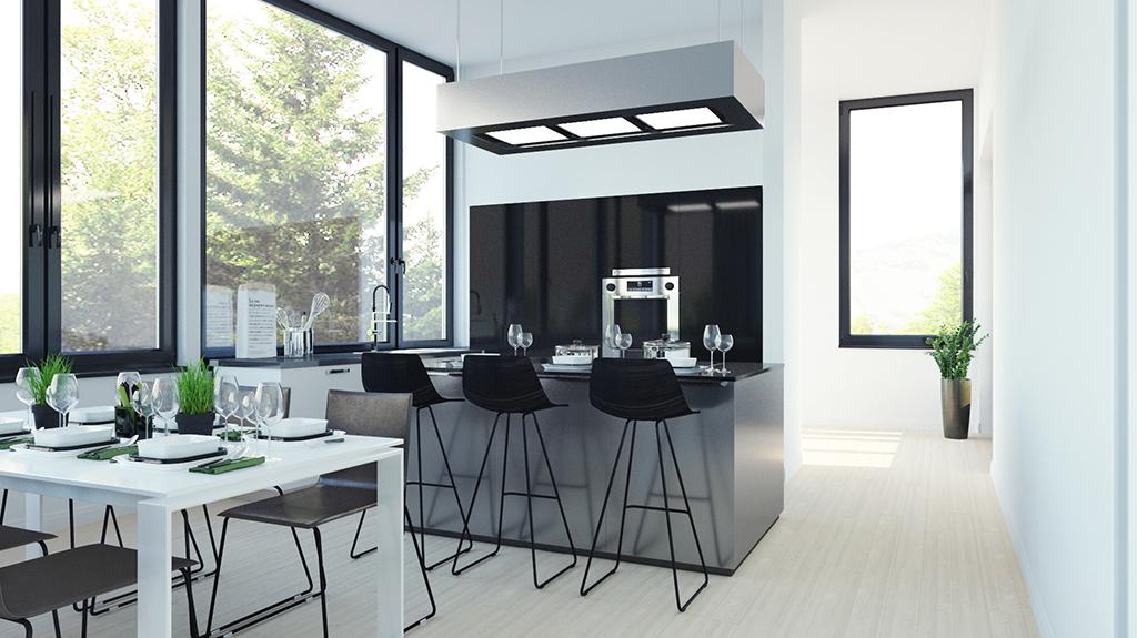 3d visualisation kitchen