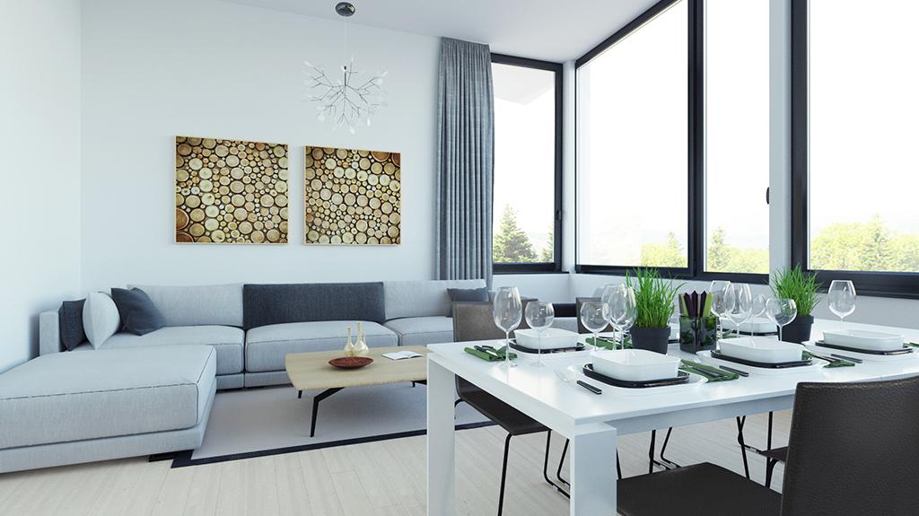 3d visualisation livingroom