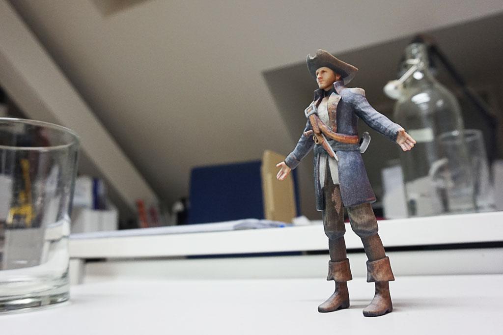 3d printed pirate
