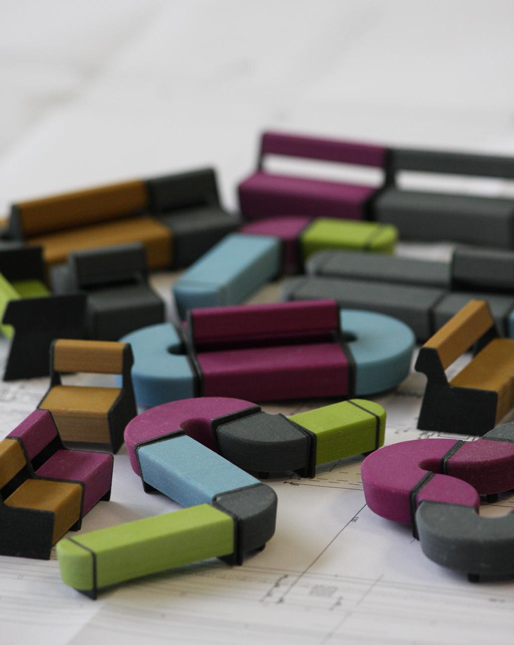 3D printed magnes