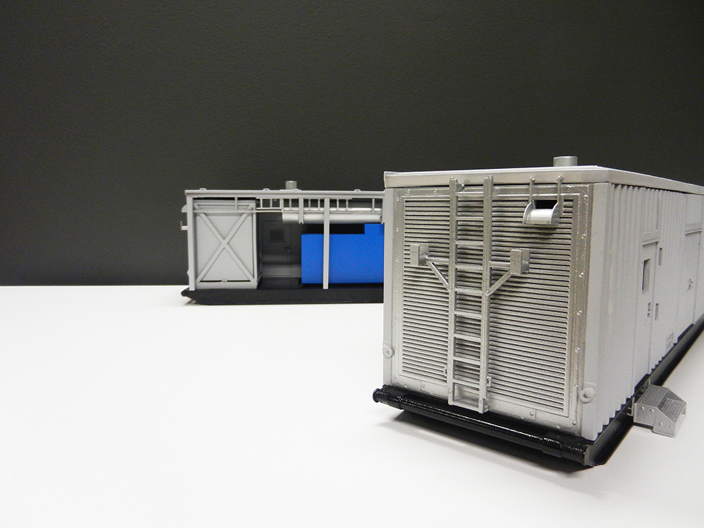 3d printed container